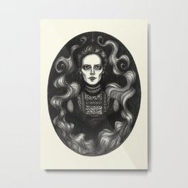 Miss Ives Metal Print