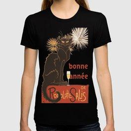 Bonne Annee Happy New Year Parody T-shirt