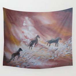 The Sylph Riders Wall Tapestry