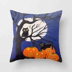 Halloween-3 Throw Pillow
