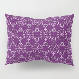 Hexagonal Circles - Elderberry Pillow Sham