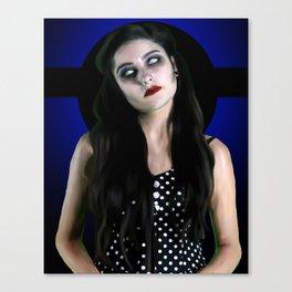 Mez Zombie 2 Canvas Print