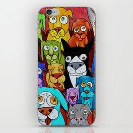 "Watching ""Cats"" iPhone Skin"