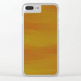Golden Butternut Squash Clear iPhone Case