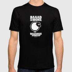 Baaadass the Sheep: Baaad to the Bone Mens Fitted Tee Black MEDIUM