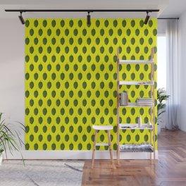 Hops Yellow Pattern Wall Mural