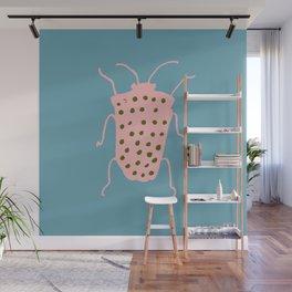Arthropod blue Wall Mural