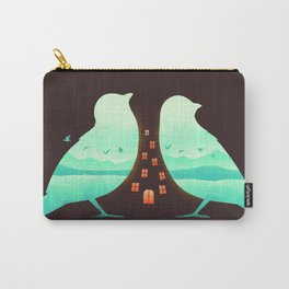 Nature is Home Carry-All Pouch