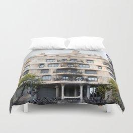 Gaudi Series - Casa Milà No. 1 Duvet Cover