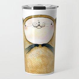 cutie cat Travel Mug