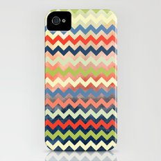 Watercolor Chevron iPhone (4, 4s) Slim Case