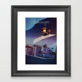 El Obsequio Framed Art Print