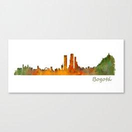 Bogota City Skyline Hq V1 Canvas Print