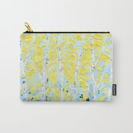 New England Paper Birch Carry-All Pouch