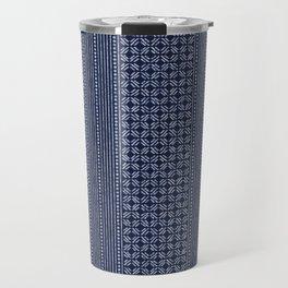 Thai Indigo Batik 3 Travel Mug