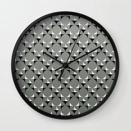 Mod Gray Wall Clock