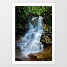 Thai Waterfall Art Print