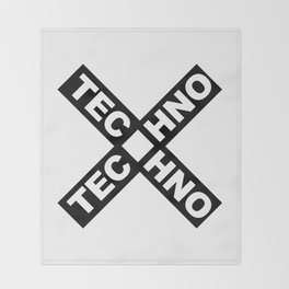 Techno Throw Blanket