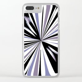 Rotating in Circles Series 09 Clear iPhone Case