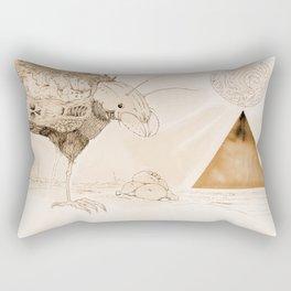 Wasteland of Dreams Rectangular Pillow