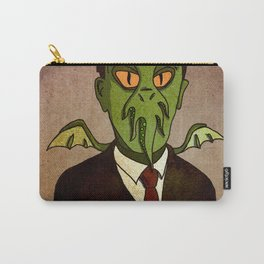 Prophets of Fiction - H.P. Lovecraft /Cthulhu Carry-All Pouch