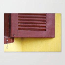 When a door closes, a window opens Canvas Print