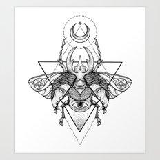 Occult Beetle II Art Print