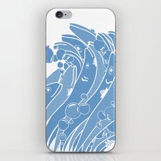 The Ocean is Alive iPhone & iPod Skin