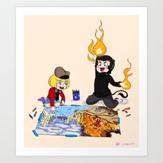 South Park :: Pip and Damien Art Print