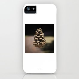 floating pinecone iPhone Case