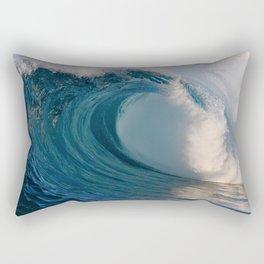 Wedge Morning Barrel ~ Newport Beach CA Rectangular Pillow