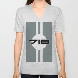 718 Racing Design Unisex V-Neck