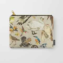 Bird poster Carry-All Pouch