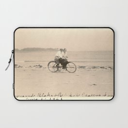 Love on a Bicycle Laptop Sleeve