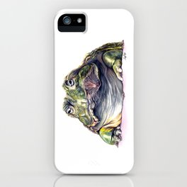 Bullfrog Snacking iPhone Case