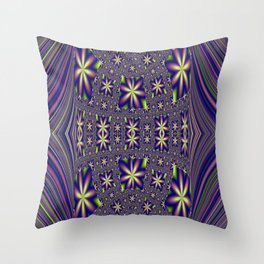Star Studded 3 Throw Pillow