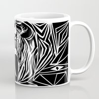 boxing Mugs featuring boxing by natalie shaul
