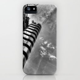 Lloyd's and the Cheese Grater  iPhone Case