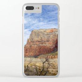 Zion National Park Landscape Clear iPhone Case