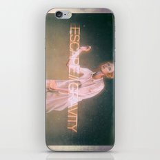 Escape Gravity And Into Space iPhone & iPod Skin