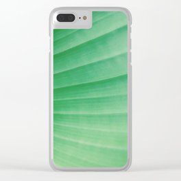 tropical plant 4 Clear iPhone Case