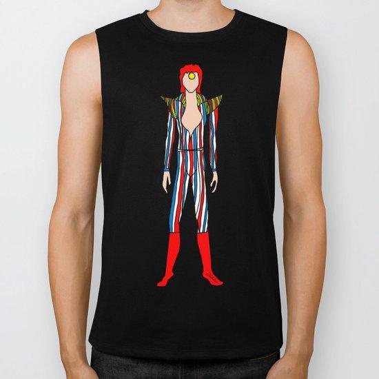 Bowie Fashion 3 Biker Tank