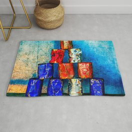 The Second Life Of Soup Cans Rug