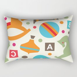 Toys Pattern 03 Rectangular Pillow