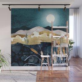 Summer Lake Wall Mural