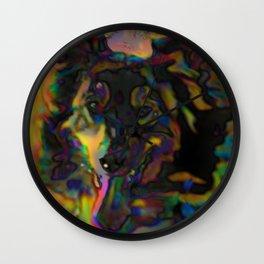 Psychedelic Shepherd Wall Clock