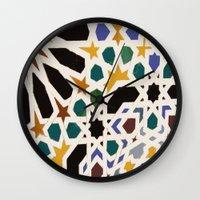 escher Wall Clocks featuring Escher Inspiration by Nancy Smith