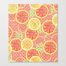 Fresh & Fruity Canvas Print