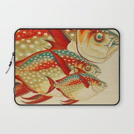 Fish Classic Designs 1 Laptop Sleeve
