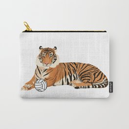 Volleyball Tiger Carry-All Pouch